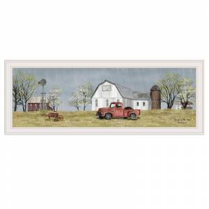 Trendy Decor4U Spring On The Farm by Billy Jacobs Printed Wall Art Wood Multi-Color