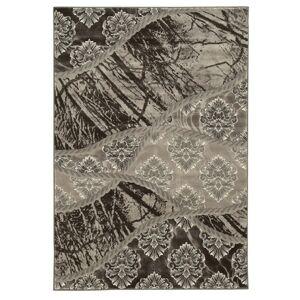 Linon Jewel 8' x 10'4 Rug in Brown