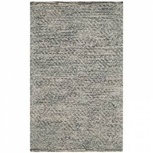Safavieh Natura 2' X 3' Hand Tufted Rug in Camel and Gray