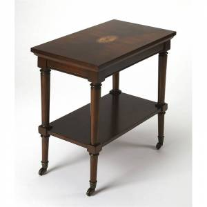 Butler Specialty Geoffrey Plantation Cherry Server Cart in Brown