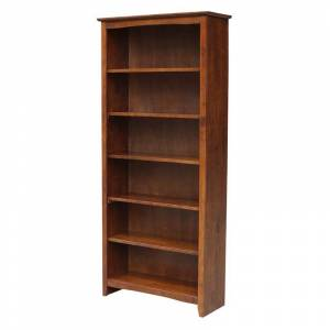 International Concepts Shaker Bookcase - 72H