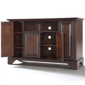 Crosley Furniture Crosley LaFayette 48 TV Stand in Mahogany