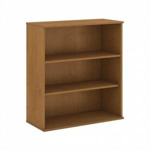 BBF 48H 3 Shelf Bookcase in Natural Cherry - Engineered Wood