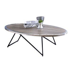 ACME Furniture ACME Allis Coffee Table in Weathered Gray Oak