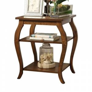 ACME Furniture ACME Becci End Table in Walnut