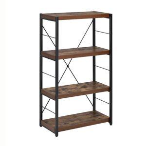 ACME Furniture ACME Bob 4 Shelf Bookcase in Weathered Oak