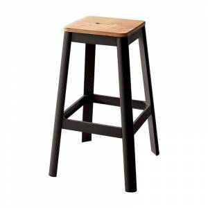 ACME Furniture ACME Jacotte Bar Stool in Natural and Black