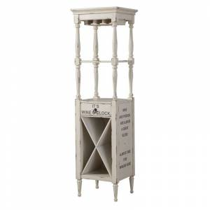 ACME Furniture ACME Anthony Wine Cabinet in Antique White