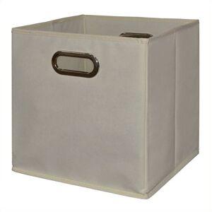 Niche Cubo Set of 3 Foldable Fabric Storage Bins- Natural