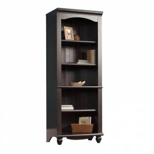 Sauder Harbor View Library 5 Shelf Bookcase in Antiqued Paint