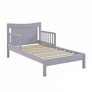 Dorel Asia Baby Relax Memphis Toddler Bed in Gray