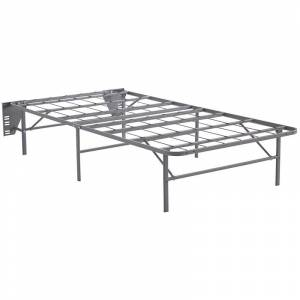 Ashley Furniture Better than a Boxspring Twin Bed Frame in Gray