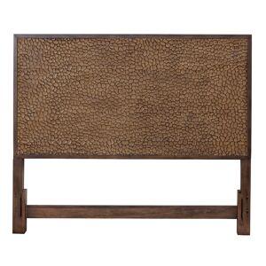 Alpine Furniture Brown Pearl Queen Wood Headboard in Brown Bronze