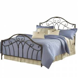 Hillsdale Josephine Bed in Metallic Brown Finish-King