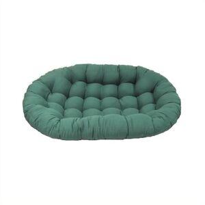 Blazing Needles Standard Double Papasan Twill Fabric Replacement Cushion-Royal Blue