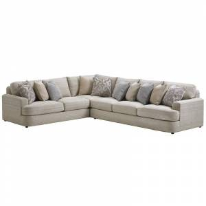 Lexington Laurel Canyon Halandale Left Facing Sectional in Slate