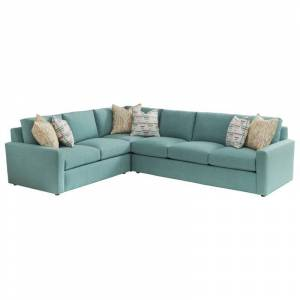 Tommy Bahama Home Tommy Bahama Ocean Breeze Rivershores Sectional in Green