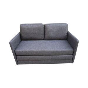 New Spec Furniture New Spec Phillip Fabric Convertible Futon in Gray