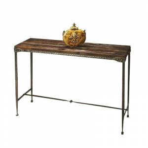 Butler Specialty Mountain Lodge Console Table in Burnt Umber