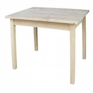 International Concepts Unfinished Kids Table