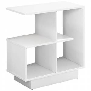 Monarch 12 End Table in White