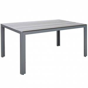 CorLiving Gallant Patio Dining Table in Sun Bleached Gray