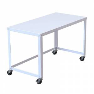Hirsh Industries LLC Hirsh Ready-to-assemble 48-inch Wide Mobile Metal Desk White