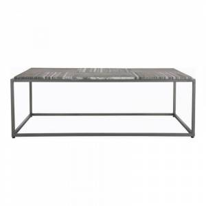 Moe's Home Collection Moe's Home Winslow Marble Top Coffee Table in Gray