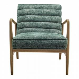 Moe's Home Collection Moe's Home Adeline Upholstered Accent Chair in Green