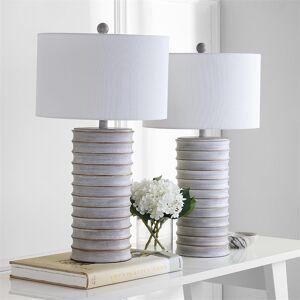 Safavieh Melina Table Lamp in Wash White (Set of 2)