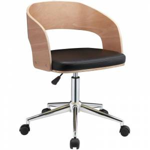 ACME Furniture ACME Yoshiko Swivel Adjustable Office Chair in Black