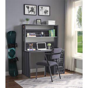 ACME Furniture ACME Cargo Desk & Hutch in Gunmetal