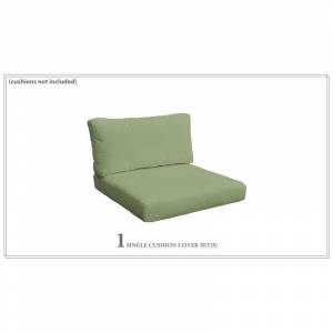 TK Classics Covers for Chair Cushions 4 Thick in Cilantro