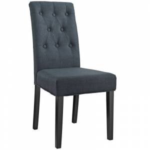 Modway Confer Dining Side Chair in Gray