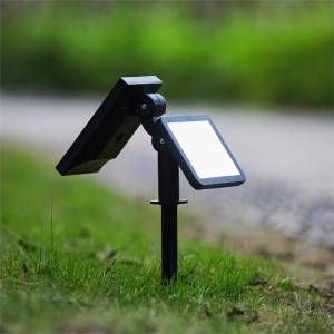 Luxen Home LED Adjustable 200LM Solar Panel Light