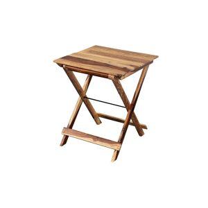 Porter Designs Solid Sheesham Wood Square Table - Harvest