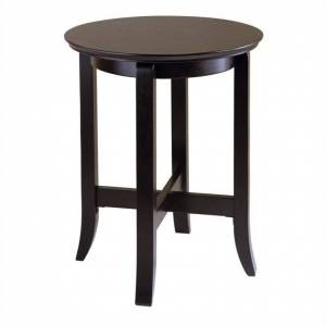 Winsome Toby End Table in Dark Espresso Finish
