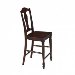 Home Styles Country Comfort Counter Stool in Aged Bourbon