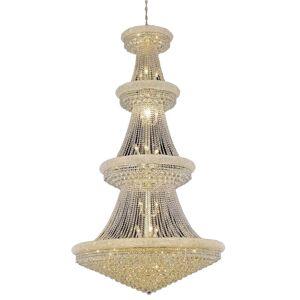 Elegant Lighting Primo 48 42 Light Elegant Crystal Chandelier