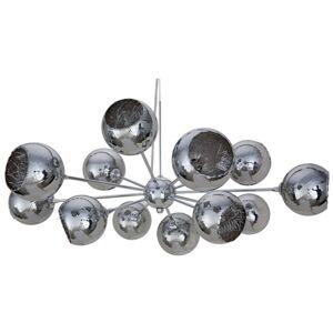 Nuevo Sylvie 12 Light Pendant in Silver