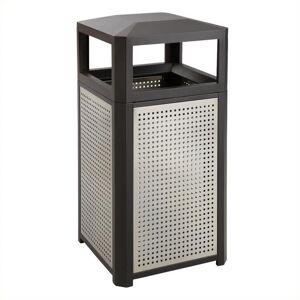 Safco 15 Gallon Evos Series Steel Waste Receptacle