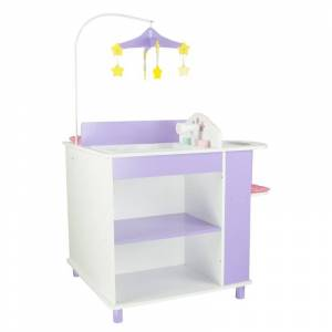 Teamson Design Teamson Kids Little Princess 18 Doll Baby Changing Station with Storage
