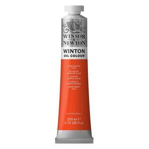 Winsor & Newton Winton Oil Colours 200 ml cadmium red light 100