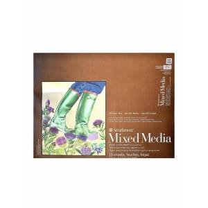 Strathmore 400 Series Mixed Media Pad 18 in. x 24 in. 15 sheets