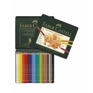 Faber-Castell Polychromos Colored Pencil Sets set of 24