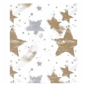 """Bags & Bows by Deluxe Silver & Gold Celebration Tissue Paper, 20 x 30"""""""