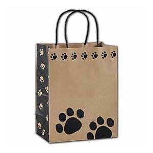 """Bags & Bows by Deluxe Precious Paws Shoppers, 8 1/4 x 4 3/4 x 10 1/2"""", Mini Pack"""