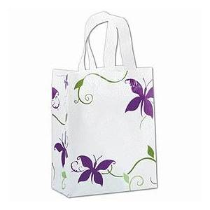 """Bags & Bows by Deluxe All a Flutter Shoppers, 8 x 4 x 10"""""""