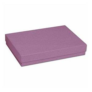 """Bags & Bows by Deluxe Purple Jewelry Boxes, 5 7/16 x 3 1/2 x 1"""""""