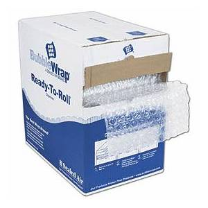 """Bags & Bows by Deluxe Clear Bubble Film in Dispenser Box, 12"""" x 175'"""
